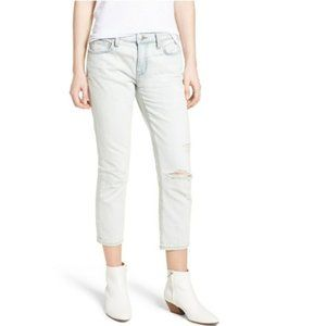 NWT Current/Elliot The Cropped Straight Leg Jean